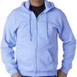 Full-Zip Unisex Sweatshirt