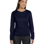 Ladies' Combed Ringspun Jersey Long-Sleeve T-Shirt