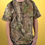 Youth Officially Licensed REALTREE® Camouflage Short Sleeve T-Shirt