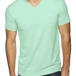 Men's Premium Fitted Sueded V-Neck T-Shirt