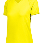 Girls Dry-Excel™ True Hue Technology™ Swift Wicking V-Neck Training T-Shirt