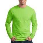 Tagless ® 100% Unisex Cotton Long Sleeve T Shirt