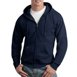 ComfortBlend ® Full Zip Unisex Hooded Sweatshirt