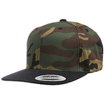 6-Panel Structured Flat Visor Classic Snapback