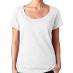 Ladies Sheer Scoop-Neck T-Shirt