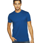 Premium Fitted Short-Sleeve Unisex Cotton Crew T-Shirt