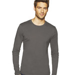 Next Level Men's Long-Sleeve Unisex Cotton Crew