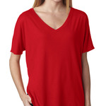 BELLA+CANVAS Ladies' Slouchy V-Neck T-Shirt