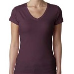 Ladies' Sporty V-Neck T-Shirt
