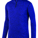 Adult Intensify Black Heather Quarter-Zip Pullover